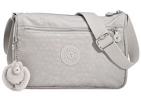 Kipling Callie Pearlized Grey