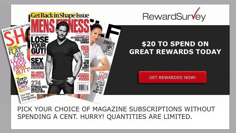 freebies2deals-rewardsurvey